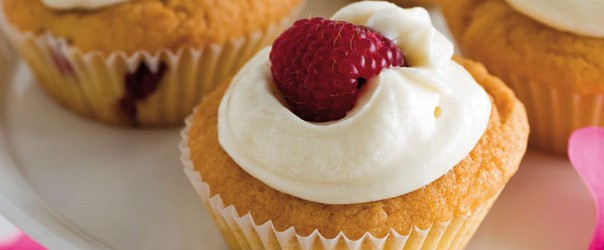 Raspberry & rosewater cupcakes | Allergy Free Cook